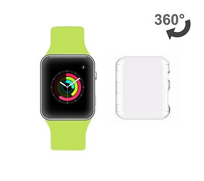 Apple Watch series 3 Hülle Hard Case 42mm transparent clear ultraslim