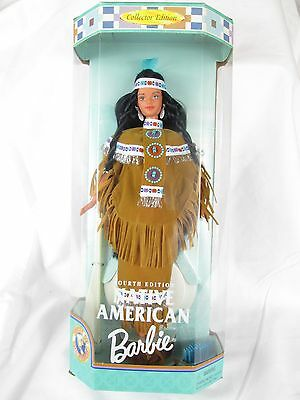 NATIVE AMERICAN Dolls of the World Barbie Doll 4th Edition