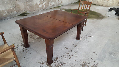 Vintage, Solid Extendable Mahogany Dining Table