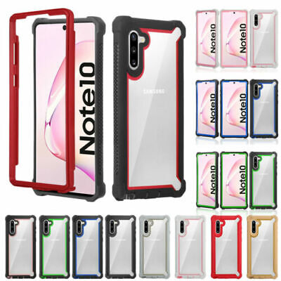 Ultra thin Slim Clear Shockproof Bumper Case Cover For Samsung Note 8/ S10 Plus