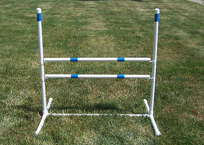 "Agility Gear Training Jump ( One Jump with Two 30"" Bars ) Dog Agility Equip"