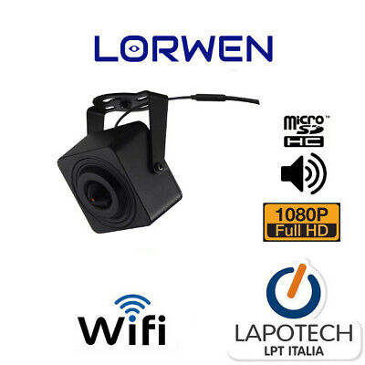 Mini Telecamera Ip Wifi Onvif Starvis Micro Sd 1080P Audio Motion Microl23Wm