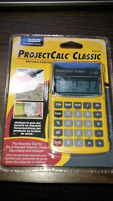 NEW ProjectCalc Classic Home Improvement Calculator Calculated Industries 8503