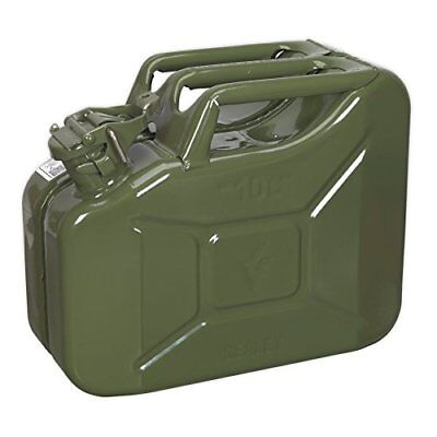SEALEY JC10G JERRY CAN 10LTR VERDE Nuovo Ricambi e accessori auto 5024209608411