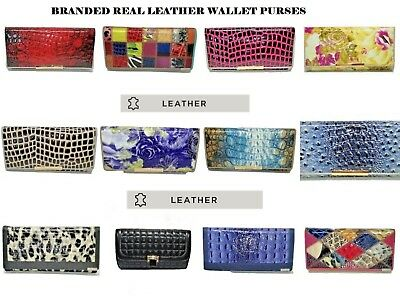 Ladies Genuine Real Leather Purse Wallet Quality Temanli Branded Gift Boxed