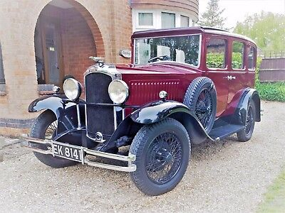 Stunning Famous Classic 1931 Vauxhall Cadet Full History, Wedding Hire Car