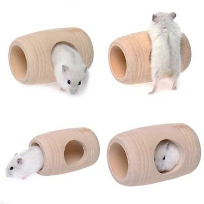 Wooden Furniture House Cage Toy Wine Cask for Rat Hamster Mouse Mice Rat Pets N7