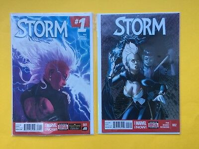 Storm #1 #2 Vol 3 2015 Marvel Now Comic 1st Print Bundle Lot