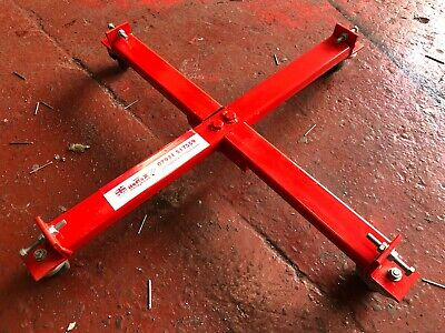 1/2 Price Reflex Kbd04 205Ltr Oil Drum Dolly/gas Cylinder Trolley U.k Produced
