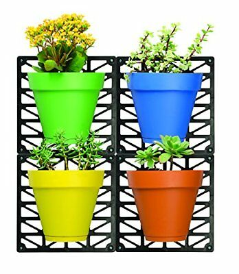 Wall Mount Planter Set, Set Of 4. Puzzle Together.