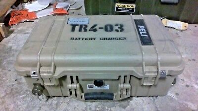 """Pelican 1510 Battery Charger Storage Case, Empty, Tan - 22"""" x 13.81"""" x 9"""""""
