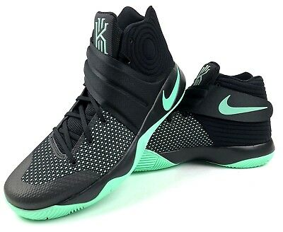 f0ab6eae5ac ... canada nike mens kyrie 2 ii size 17 new 819583 007 black green glow basketball  shoes