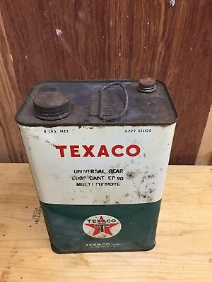 Vintage Texaco Universal Gear Lubricant Oil Can