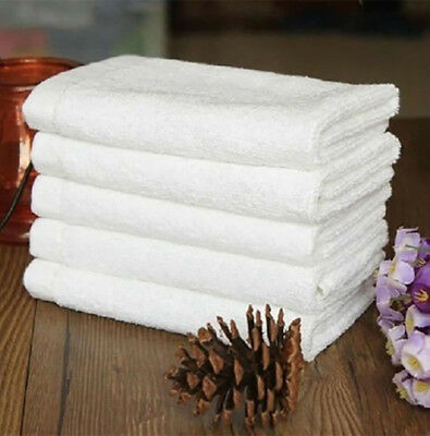 Beauty Salon Treatment Towels....hairdressing Towels....white ....65 X 40 Cm