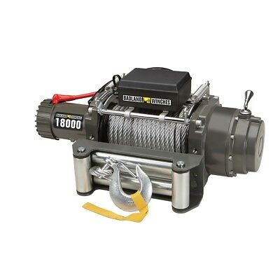 18000 lb. Industrial/Tow Truck Electric Winch with Automatic Load-Holding Brake