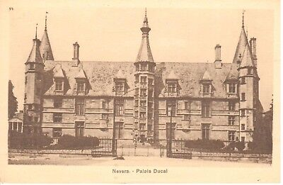carte postale - (58) Nièvre - CPA - Nevers - Palais Ducal