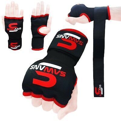 O Boxing Gel Gloves Hand wraps Punch Bag Inner Glove MMA Martial Arts UFC Gear E