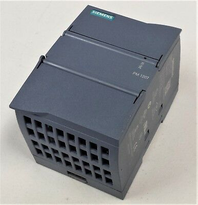 SIMATIC S7-1200 Power Module PM1207 Stabilized Power Supply 24V DC / 2.5A