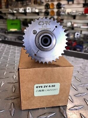 Scooter GY6 150cc High Performance Csrk Racing Camshaft 6.50