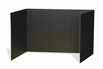 """Pacon Privacy Boards, 48""""x16"""", Black, 4 Pack"""