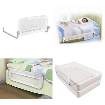 Summer Infant Travel Single Childs Toddler Baby Bed Guard Rail Bedrail White