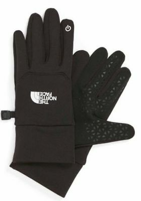 $45 The North Face Women Etip Gloves TNF Black MTN Culture Outdoor Size L New