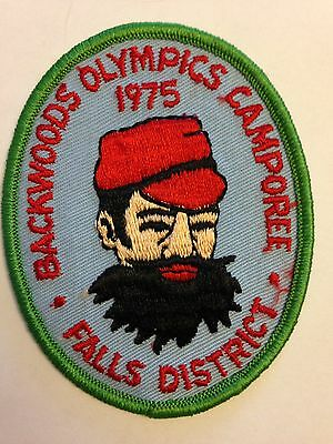 BSA Falls District - 1975 Backwoods Olympic Camporee