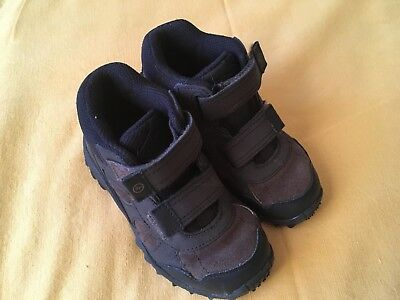 Stride Rite Rugged Ritchie 2 boys brown shoes boots size 11.5M