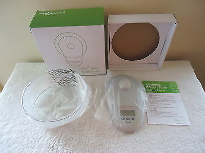"""Real Appeal Electronic Food Scale """" NIB """" GREAT KITCHEN ITEM """""""
