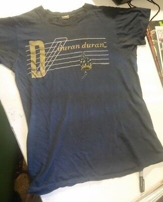 Vintage 1980s DURAN DURAN CONCERT T SHIRT 1984 Union of the Snake s/m rare!!