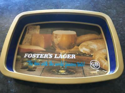 Vintage Fosters Lager Drink Tray - Great For The Bar -  Collectable - Buy Now