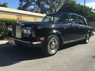 1979 Rolls-Royce Silver Shadow - Silver Shadow II 1979 Classic Rolls Royce Silver Shadow II Only 83K Miles - Super Nice  Black/Red