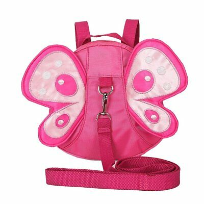 Baby Toddler Walking Safety Butterfly Backpack with Leash, Child Harness Reins