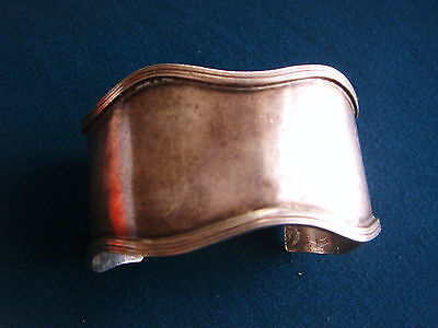 Vintage Antique Silver COOPER BROTHERS & SONS England Cuff Bracelet ca.1917