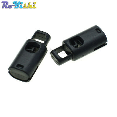 Plastic Cord Lock Stopper Cylinder Barrel Toggle Clip For Garment Accessories