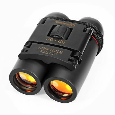 Light Night Vision 30x60 Folding Binoculars Telescope for Outdoor Travel
