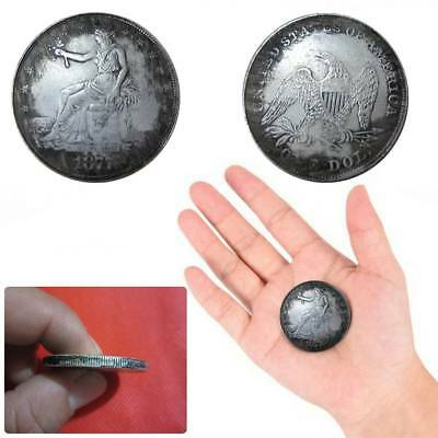 Silver Plated US 1877 Coins Collection Gift Commemorative Coin Physical Art Coin