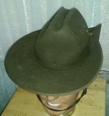 AKUBRA Australian DEFENCE FORCE Millitary Hat size 53  2016