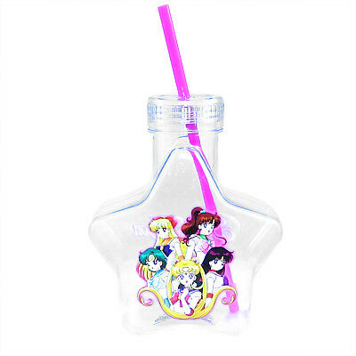 OFFICIAL Sailor Moon StarTumbler Travel Cup GIFT with Glitter Lid & Straw 20oz