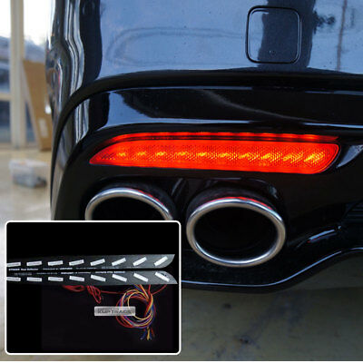 Rear Bumper Reflector 3 Way Turn Signal LED Module LH RH for KIA 2017-18 Stinger