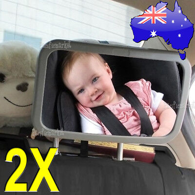 1X 2X Car Baby Child Seat Inside Mirror View Back Safety Rear Ward Facing Care