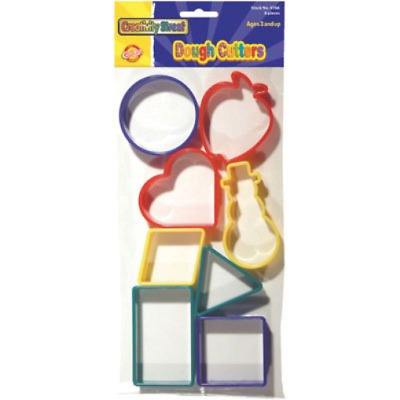 Dough Cutters - 8 Basic Shapes