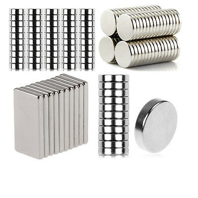 N35 Super Strong Round Neodymium Magnets Rare Earth Disc Fridge Craft