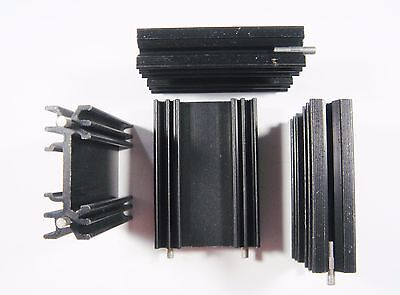 4 x TO220 COOLING ELEMENT 50x35x12, 6mm RTHK 9 K/W #21K21
