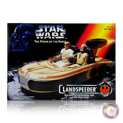 Landspeeder (Us-Box) - Star Wars: The Power Of The Force (Potf) - Hasbro