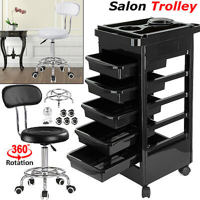 Salon Chair Massage Stool Styling Beauty Hairdressing Barber Tattoo Therapist UK