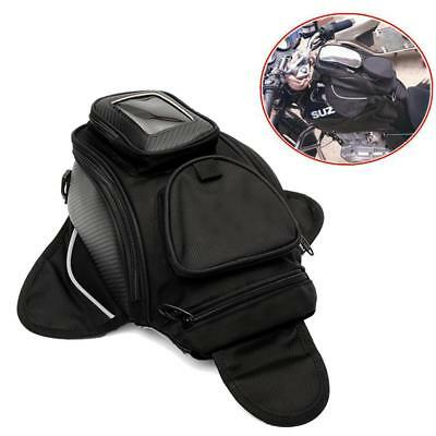 NEW Waterproof Universal Magnetic Motorcycle Motorbike Travel Oil Fuel Tank Bag