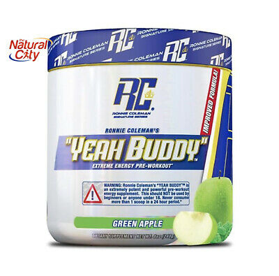 Ronnie Coleman Yeah Buddy *30 Srv- Intense Pre Workout+ Shaker-Free Express Post