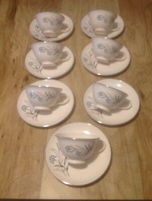 7 Vintage Taylor Smith & Taylor Versatile Cups & Saucers