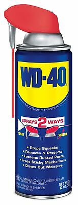 1 Pack WD-40 100324 Multi-Use Product Spray with Smart Straw, 12 ounces, New